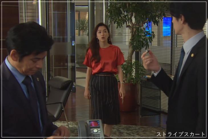 1スーツ[4話] 中村アンの服装がおしゃれ!ピアスやアクセサリーも!