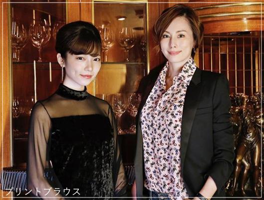 リーガルV[4話]米倉涼子の衣装!ピアスにネックレスも!7