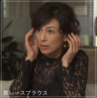 SUITS/スーツ[3話] 鈴木保奈美の服のファッション!ピアスにブラウスもa5