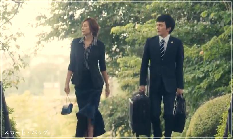 リーガルV[2話]米倉涼子の服のブランド!Tシャツにアクセサリーも!a5