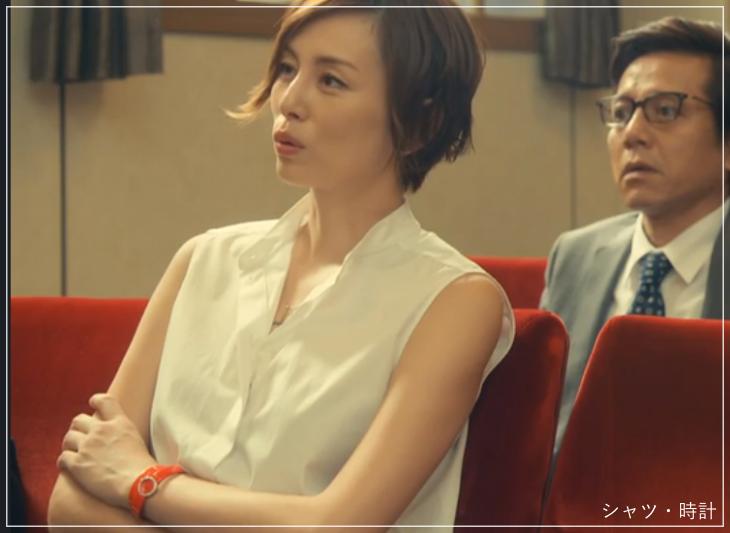 リーガルV[4話]米倉涼子の衣装!ピアスにネックレスも!a16