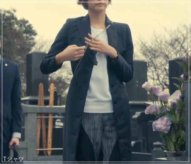 リーガルV[4話]米倉涼子の衣装!ピアスにネックレスも!a18