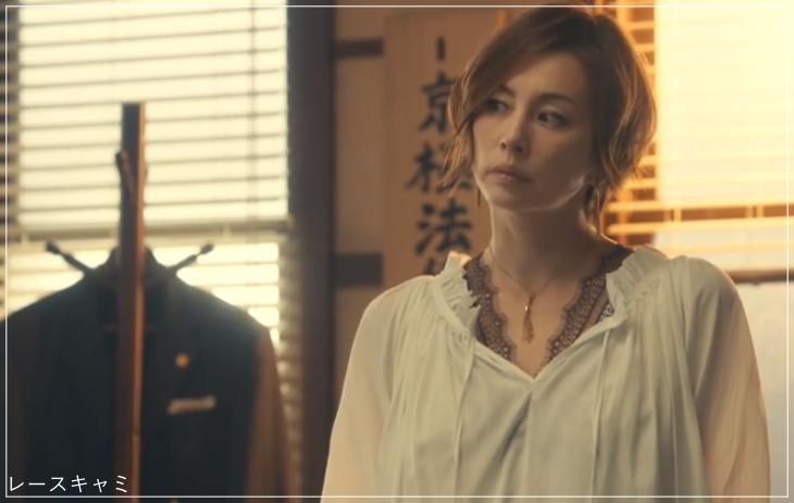 リーガルV[2話]米倉涼子の服のブランド!Tシャツにアクセサリーも!a8
