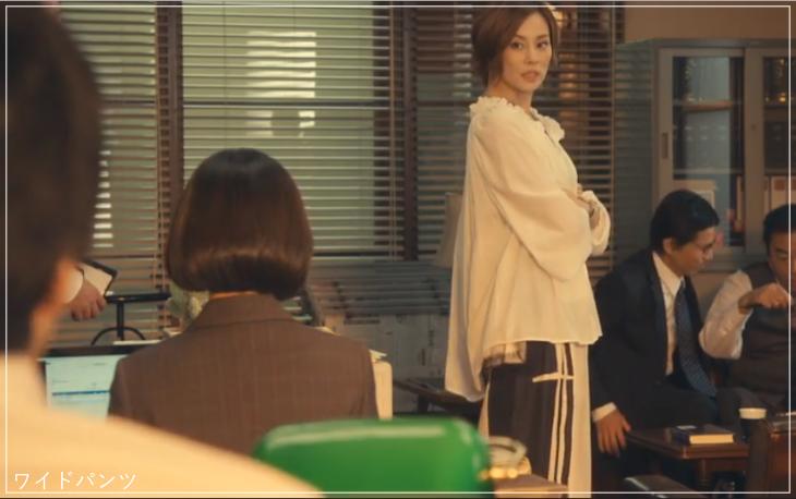 リーガルV[2話]米倉涼子の服のブランド!Tシャツにアクセサリーも!a17