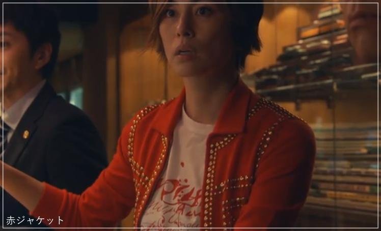 リーガルV[4話]米倉涼子の衣装!ピアスにネックレスも!a22