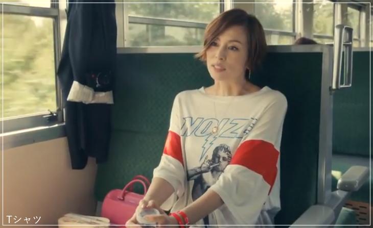 リーガルV[2話]米倉涼子の服のブランド!Tシャツにアクセサリーも!a14