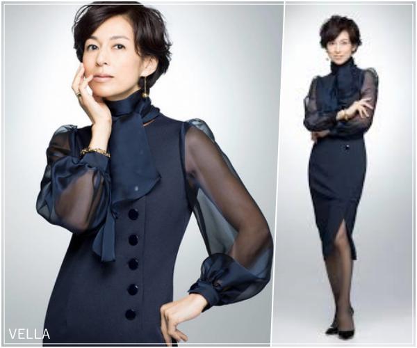 SUITS/スーツ[1話] 鈴木保奈美の衣装!ネックレスや時計はどこの?1