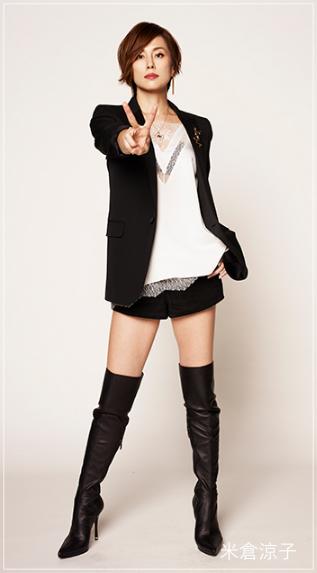 リーガルVの米倉涼子の服のブランドは?靴やアクセサリーも!3