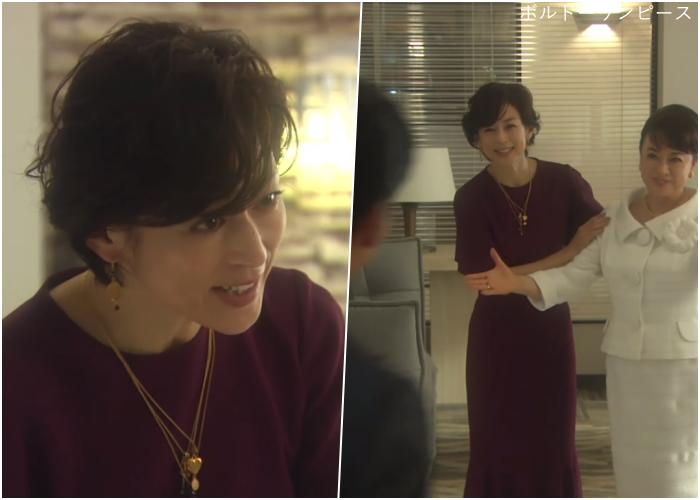 SUITS/スーツ[6話] 鈴木保奈美が綺麗!ティファニーや時計のブランドも!14-15