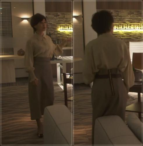 SUITS/スーツ[9話] 鈴木保奈美のコートにネックレス!シャネルやブルガリも18-side