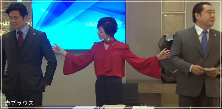 SUITS/スーツ[5話] 鈴木保奈美の服のブランド!ブラウスやネックレスも!1a2