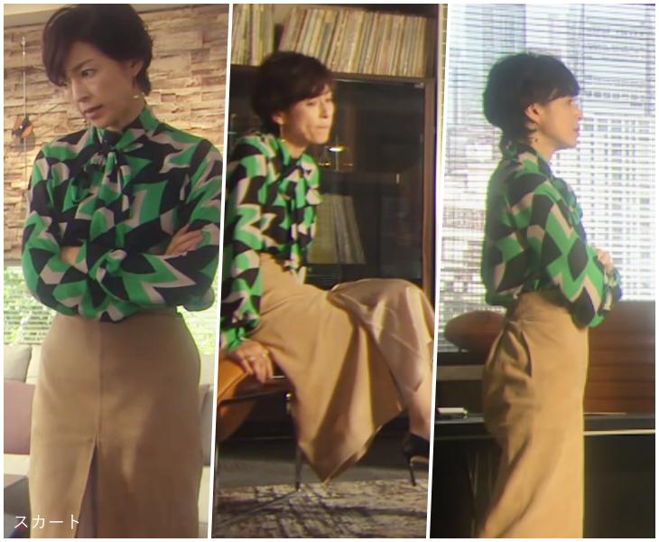 SUITS/スーツ[5話] 鈴木保奈美の服のブランド!ブラウスやネックレスも!4