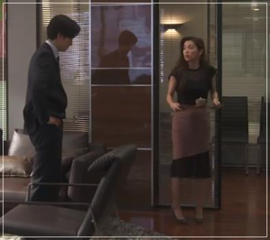 スーツ[9話] 中村アンの衣装のブランド!ファーコートにワンピースも!7