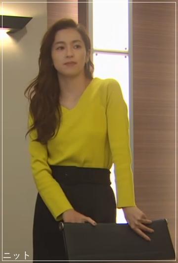 スーツ[7話] 中村アンのかわいい衣装!ヴァンクリーフやネックレスもa3