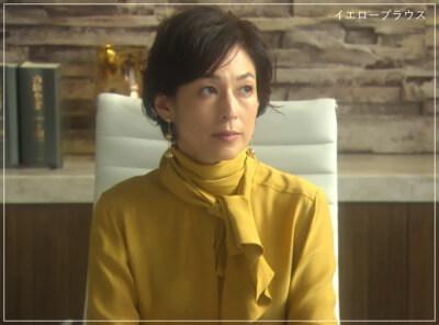 SUITS/スーツ[8話] 鈴木保奈美の衣装が綺麗!トップスにワンピースも