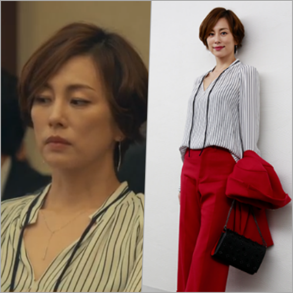 リーガルV[6話]米倉涼子の衣装!フェンディにディオール、ジュエリーもcoll2