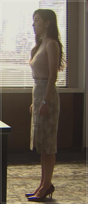 スーツ[11話] 中村アンの衣装!ピンキー&ダイアンにリップサービスも5