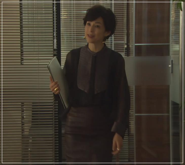 SUITS/スーツ[11話] 鈴木保奈美の衣装!サンローランにディオールも!6