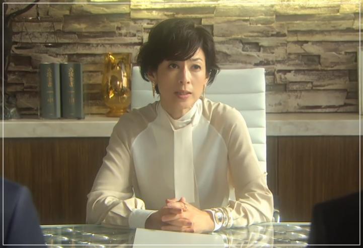 SUITS/スーツ[10話] 鈴木保奈美が着用のピアス!バッグに衣装も!a8