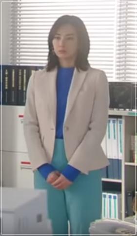 家売るオンナの逆襲[4話]北川景子のファッション!ネックレスにニット1