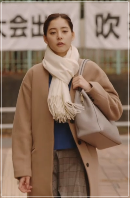 「トレース」新木優子が綺麗!衣装のブランド!ニットやアクセサリーも21-2