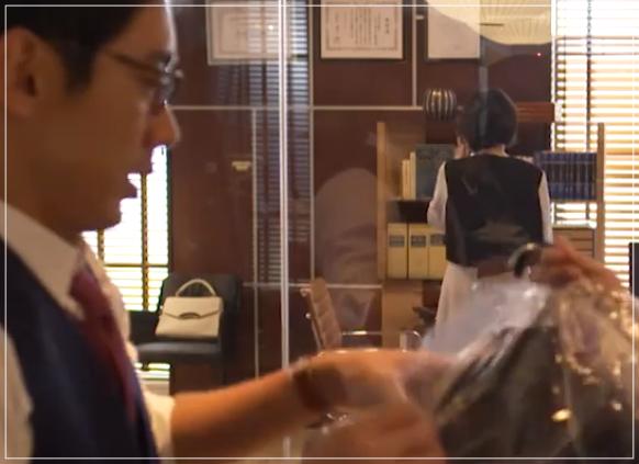 グッドワイフ[4話]賀来千香子のファッション!スーツにバッグも!