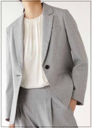 グッドワイフ[3話]常盤貴子の衣装のブランド!ニットにジャケットもnoname2