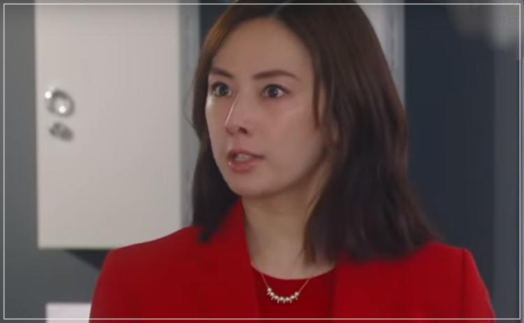 家売るオンナの逆襲[4話]北川景子のファッション!ネックレスにニットue