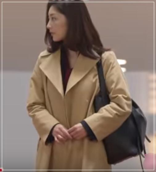 グッドワイフ[2話]常盤貴子の魅力のファッション!コートにバッグもw29