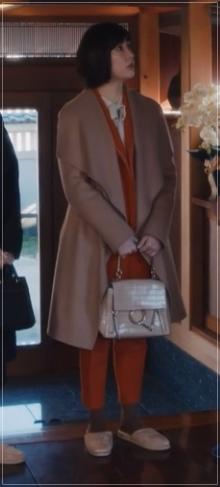 スキャンダル専門弁護士QUEEN[6話]水川あさみの衣装!指輪にブラウス17