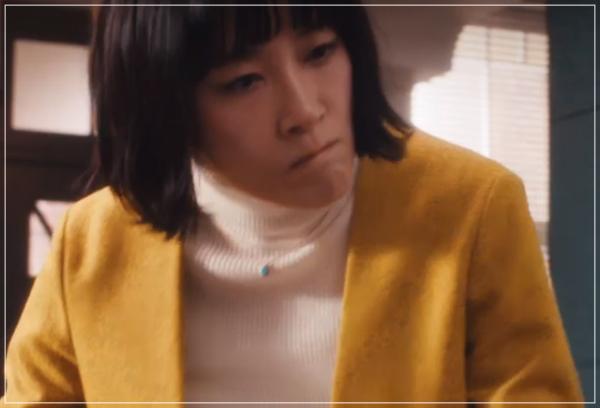 スキャンダル専門弁護士QUEEN[7話]水川あさみドラマの衣装や指輪に時計19