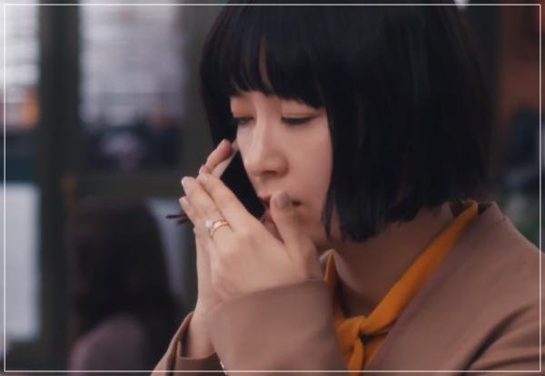 スキャンダル専門弁護士QUEEN[7話]水川あさみドラマの衣装や指輪に時計27