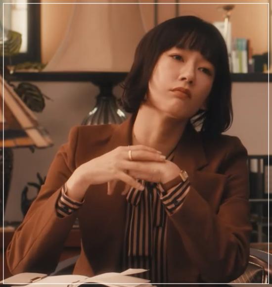 スキャンダル専門弁護士QUEEN[7話]水川あさみドラマの衣装や指輪に時計35