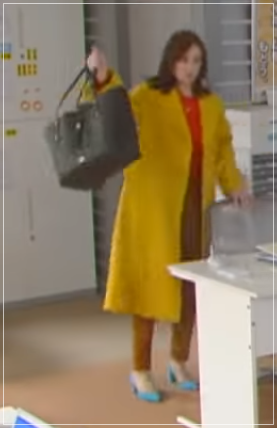 家売るオンナの逆襲[8話]北川景子の衣装!ファーマフラーにコートも5