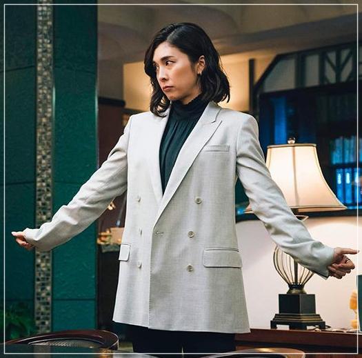 スキャンダル専門弁護士QUEEN[7話]竹内結子ドラマの衣装やハイヒールnoname7