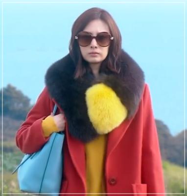 家売るオンナの逆襲[8話]北川景子の衣装!ファーマフラーにコートもw1