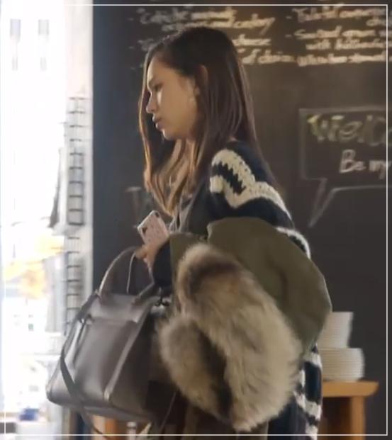 グッドワイフ[8話]水原希子のドラマの衣装!ピアスにバッグやコート18