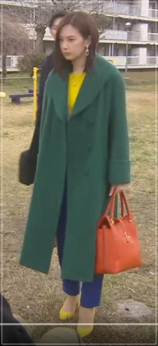 家売るオンナの逆襲[10話]北川景子の衣装!バッグやコートにマフラー2