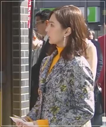 家売るオンナの逆襲[9話]北川景子のドラマの衣装!ピアスにコートも6