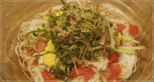 きのう何食べた?[2話]レシピ!ツナとトマトのそうめん・いちごジャム1