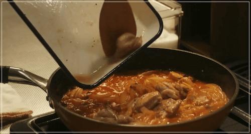 きのう何食べた?[3話]レシピ!鶏もも肉のトマト煮込み・コールスロー9