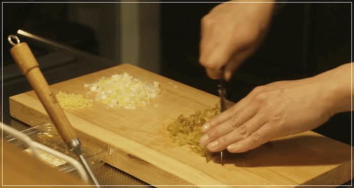 きのう何食べた[1話]レシピ!鮭・たけのこ・ザーサイ・小松菜・厚揚げ・かぶ7