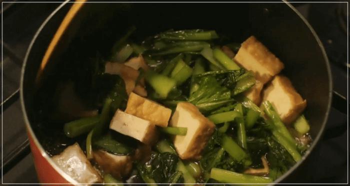きのう何食べた[1話]レシピ!鮭・たけのこ・ザーサイ・小松菜・厚揚げ・かぶ14