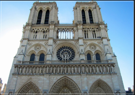 ノートルダム大聖堂は木造建築?木造部分や構造!主な美術品は?