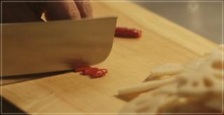 きのう何食べた?[6話]レシピ!シロさんのれんこんのきんぴら!