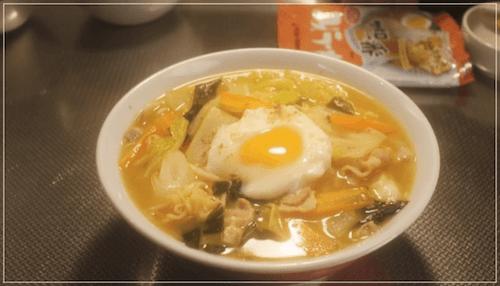 きのう何食べた?[5話]レシピ!ケンジのサッポロ一番みそラーメン1