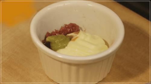 きのう何食べた?[8話]レシピ!ブロッコリーの梅わさびマヨネーズ3