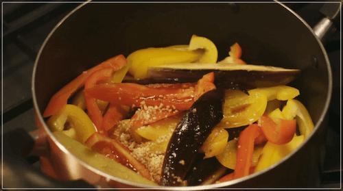 きのう何食べた?[8話]レシピ!シロさんのなすとパプリカのいため煮3