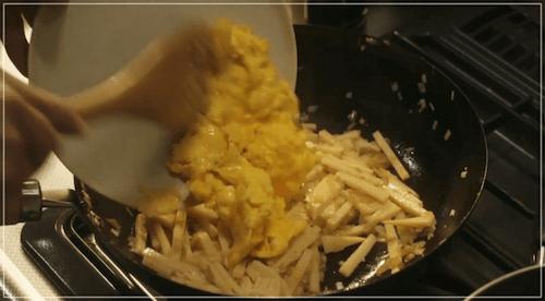 きのう何食べた?[1話]レシピ!たけのことザーサイの中華風いため5