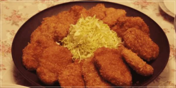 きのう何食べた[11話]レシピ!シロさんのお母さんのとんかつ・切り干し大根1